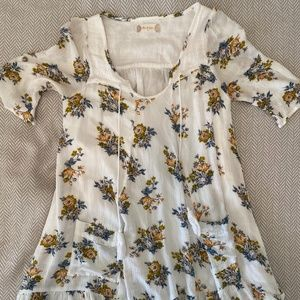 Short sleeve altard state dress